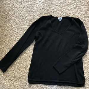 Size L Black Old Navy Lightweight Sweater
